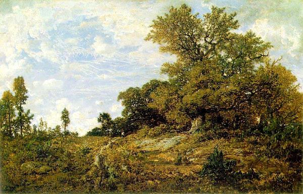 Th odore rousseau 1812 1867 lisi re de bois monts - Poids d un stere de bois ...